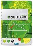 Schulplaner Gr�n 2018/2019 - Sch�lerplaner, Sch�lerkalender: Timer mit Umschlag und Tasche Bild