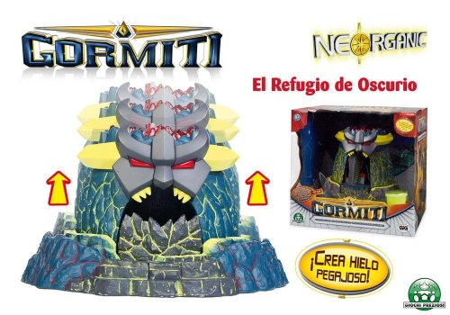 Gormiti TV3 7648 Figurine Obscurio Den [Spanish Language]