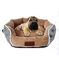DIAMO Preciosa Cama de Mascotas esteras Desmontables Nido de Mascotas,Cama para Perros Perro De