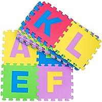 Tappetino puzzle 26 lettere alfabeto pavimento morbido per bambini giocattoli