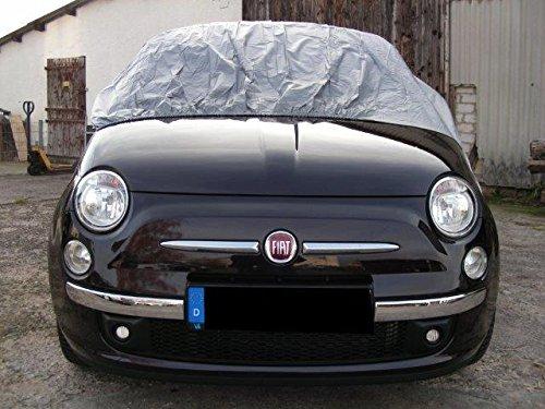 Kley + Partner FIAT 500 C TOPOLINO Mezzo copiauto 'California light' Garage portatile Garage pieno