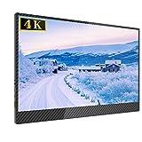 4K 15,6 Zoll Portable Monitor 3840 × 2160 UPERFECT IPS Tragbarer Bildschirm HDMI Display für Raspberry Pi/Xbox/PS/Computer/Laptop