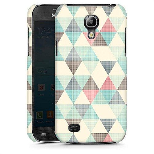 samsung-galaxy-s4-mini-hulle-premium-case-schutz-cover-dreiecke-vintage-muster-pastell