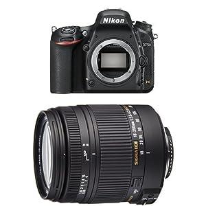 Nikon-D750-SLR-Digitalkamera-243-Megapixel-81-cm-32-Zoll-Display-HDMI-USB-20