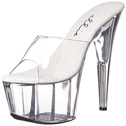 Ellie Shoes709-vanity - 709-vanity Damen, (Farblos), 36 B(M) EU