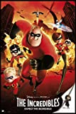 Close Up The Incredibles Poster Expect The Incredible (93x62 cm) gerahmt in: Rahmen Schwarz