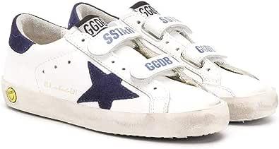 Golden Goose Luxury Fashion Ragazzo G36KS321G6 Bianco Pelle Sneakers   Ss21