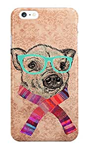The Fappy Store Funny Pig Illustration Printed Back CoverCase For Iphone 6S Plus
