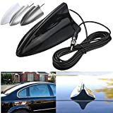 Generic Universal Black Shark Fin Car Truck RV Radio Stereo Antenna