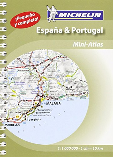 Spain & Portugal 2015 Michelin mini-atlas (Michelin Tourist and Motoring Atlas) por Michelin