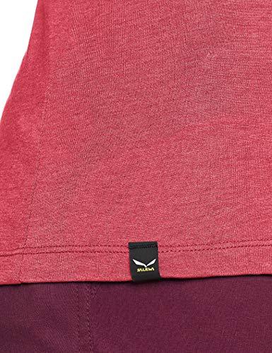 Maglietta Donna SALEWA Solid Logo Dry W L//S