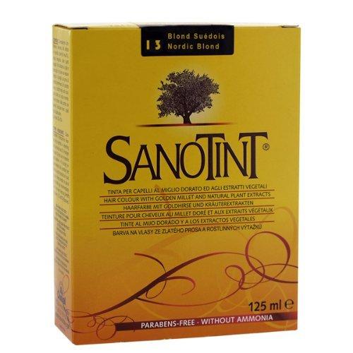 Sanotint Swedish Blonde hair dye 13 by Cosval