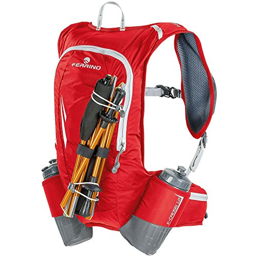 Ferrino X-Cross Zaino Running, Rosso, 12 l