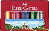 Faber-CastellCoffret de Crayons de Couleur Multicolore Étui en métal 36 lápices Rouge