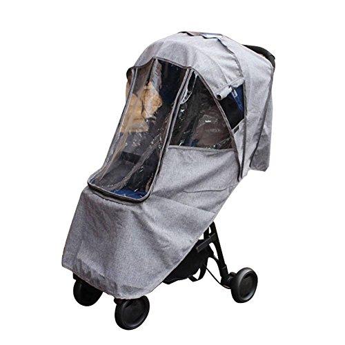 Universal Wasserdicht Kinderwagen Regen mantel, Baby Auto Abdeckung Trolley Regenschirm Auto Regen Abdeckung Kinderwagen Wind schutzscheibe Kinderwagen Zubehör Trolley Zubehör
