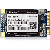 Zheino Q1 mSATA SSD de 120 GB (30 * 50 mm) MLC (Not TLC Not 3D NAND) Interno mSATA Memoria mSATA Disco Duro Unidad de Estado Sólido Para Mini PC Tablet PC