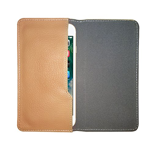 Fastway Leather Pouch Flip Case for Samsung Galaxy Note II CDMA Beige  available at amazon for Rs.259