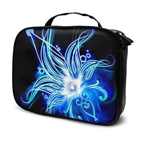 Lotus Flower Travel Makeup Bags Kosmetiktasche Organizer für Frauen