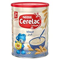 Nestle Cerelac Infant Cereal Wheat Tin, 1Kg-Promo Pack