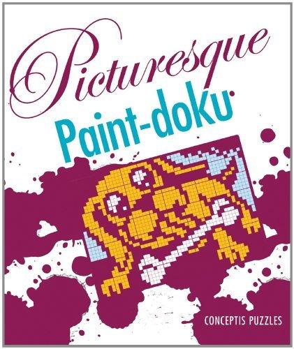 Picturesque Paint-doku by Conceptis Puzzles (2010-11-02)
