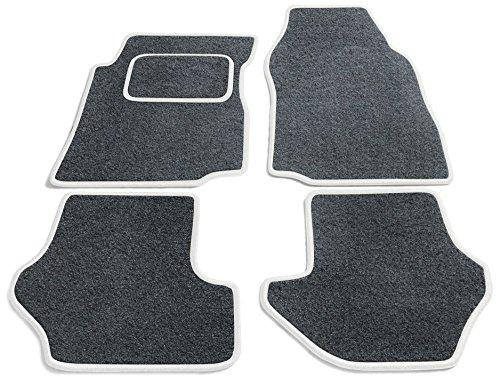 Preisvergleich Produktbild JediMats 42054L-Pre-Weiss-Schi Prestige Maßgeschneiderte Fußmatte für Ihr Auto, Schiefer