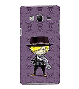 EPICCASE Hatted Villain character Mobile Back Case Cover For Samsung Tizen Z3 (Designer Case)