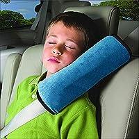 Demarkt Auto Almohada del cinturón de seguridad del coche Proteja hombro almohada cojín amortiguador del vehículo Ajuste del cinturón de seguridad para los niños de los niños