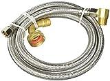 Plumb Pak pp23833Geschirrspüler Anschluss 3/8Zoll Kompression Zuleitung durch 3/8Zoll MIP Steckdose, 152,4cm mit 84rblf Ellbogen,