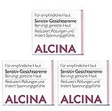 3er S Sensitive Gesichtscreme pflegende Kosmetik Alcina beruhigt gereizte Haut je 50 ml = 150 ml