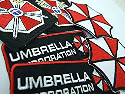 Resident Evil Umbrella Corporation Costume Cosplay Patches Set of 6 by ONEKOOL ,