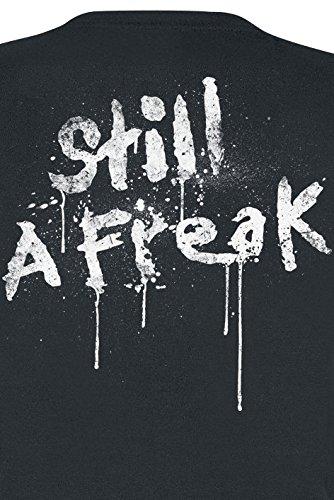 Korn Still A Freak Girl-Shirt Schwarz Schwarz