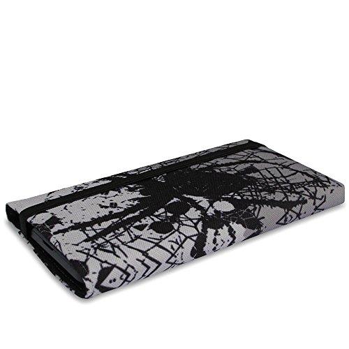 Stilbag Tasche 'MIKA' für Apple iPhone 7 plus - Design: Pink Loops Spider Invasion