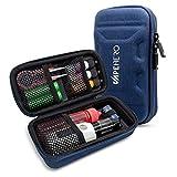 VapeHero® XL Custodia Sigaretta Elettronica | Custodia Vapore per Max. 80ml di Liquido und Accessori | Adatto per Grandi MODS | Antiurto