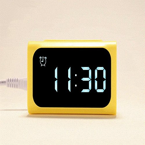 remax-led-alarm-clock-creative-power-bank-usb-charger-electronic-bedside-alarm-clock-yellow