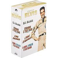 Paramount Coffret Elvis: G.I. Blues + L'homme à tout faire + L'idole d'Acapulco + 3 gars, 2 filles et un trésor