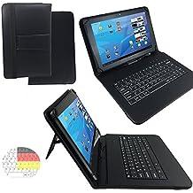 Onda V9193G Air Z3735–Teclado alemán Tablet Funda con función atril–9.7pulgadas Negro Teclado