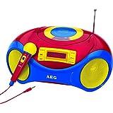 AEG AEG SR 4363 - Radio CD con micrófono para niños