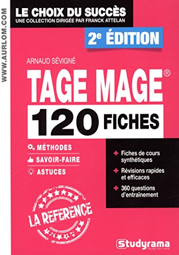 120 fiches tage mage : 120 fiches méthodes savoir-faire et astuces