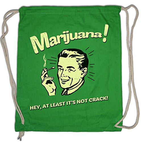 Urban Backwoods Marijuana Turnbeutel Sporttasche Fun Cannabis Leaf Smoke Smoking Weed Pot Shit Kush -