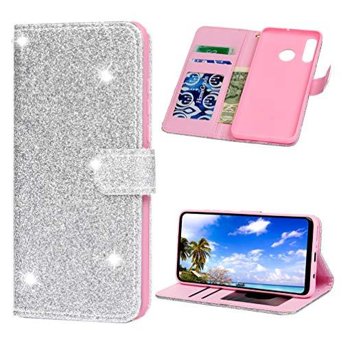 Preisvergleich Produktbild Handyhülle für Huawei P30 Lite Hülle PU Leder Tasche Flipcase Schutzhülle Ständer Klapphülle Silikon Handytasche Bumper Magnetverschluss Brieftasche Huawei P30 Lite