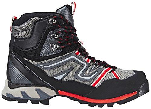 MILLET High Route Mesh, Chaussures de Randonnée Hautes Homme GREY RED