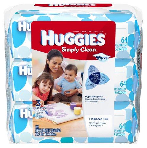 Huggies Simply clean toallitas–192-ct