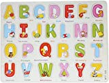 #9: Ambuja Plus Wooden Alphabet Puzzle Board With Peg Knobs
