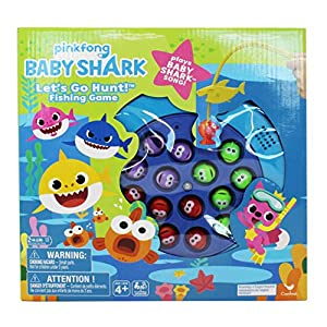 Spin Master: Pinkfong Baby Shark – Lets Go Hunt! Fishing Game & Song, Multicolor (6054916)