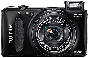 Fujifilm FinePix F660EXR Digital Camera - Black (16MP EXR-CMOS Sensor, 15x Optical Zoom) 3 inch LCD Screen