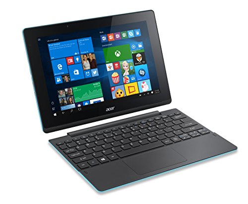 Acer Aspire Switch 10 E SW3-016 10.1 inch IPS Touchscreen Detachable 2-in-1 Laptop (Intel Atom X5-Z8300 Quad-Core, 2 GB RAM, 64 GB Storage, WLAN, BT, Windows 10) - Blue