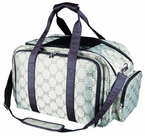 Trixie 28903 Tasche Maxima, erweiterbar, 33 x 32 x 54 cm, beige/braun -