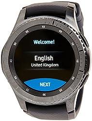 Samsung Sm-r760ndaabtu Gear S3 Frontier Smartwatch - Black