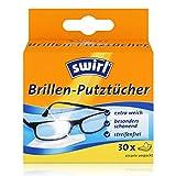 Swirl Brillenputztücher/4006508177325 14 x 12,5 cm weiß Inh.30