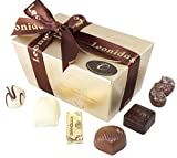 Belgische Leonidas Pralinen in Geschenkbox: Mischung von 22 luxurioesen Pralinen in edler Geschenkverpackung